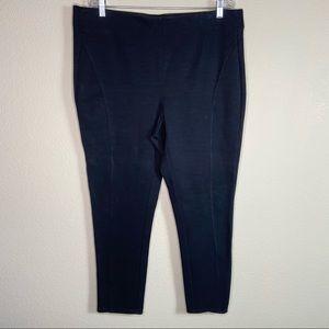 Lane Bryant ponte knit pull-on career pants